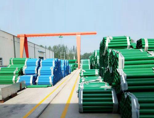 波形护栏配件喷塑立柱货场