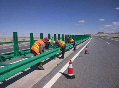 波形梁钢护栏工程